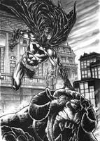 Batman commission. by dichiara