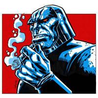 Darkseid Kirby by dichiara
