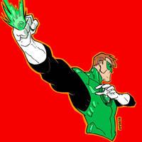 Green Lantern by dichiara