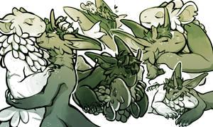 Grem2 - Veiik Sketch Page Commission by junijwi