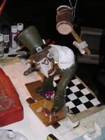 Mad Hatter II WIP by dementorrain