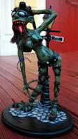 Zombie Stripper I by dementorrain