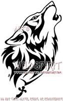 Gypsy's Fury Wolf Tattoo by WildSpiritWolf
