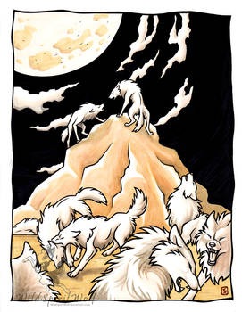 Moonlit Revolution by WildSpiritWolf