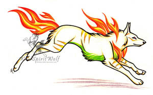 Sepla - Flame Leap by WildSpiritWolf