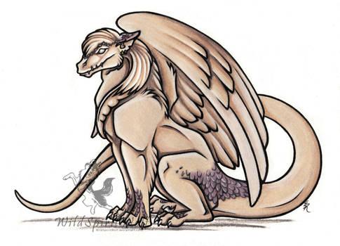 Sil - Winged Dragon by WildSpiritWolf