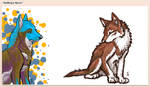 NutMeg And Tahlin - iScribble by WildSpiritWolf
