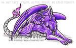 Dakarai Dragon Wolf by WildSpiritWolf