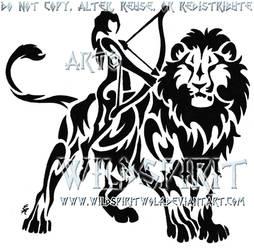 Leo And Sagittarius Tattoo by WildSpiritWolf