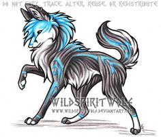Aki-Tenraku Wolf Picture by WildSpiritWolf