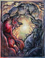 Alchemy Of Life And Death by WildSpiritWolf
