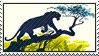Jungle Book Bagheera Stamp by WildSpiritWolf