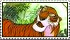Jungle Book Shere Khan Stamp by WildSpiritWolf