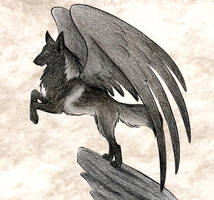 Hakurou In Sepia by WildSpiritWolf