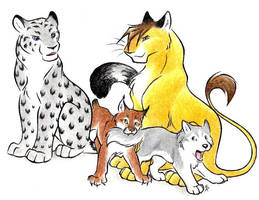 One Big Happy Family by WildSpiritWolf