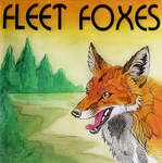 Art Assignment Album Cover - Fleet Foxes by WildSpiritWolf