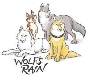 Wolf's Rain FanArt by WildSpiritWolf