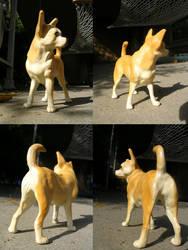 Chompie Chihuahua Sculpture by WildSpiritWolf