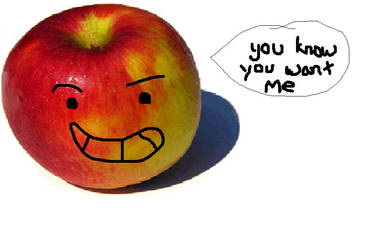 Love the apple by xxPrincessCocoxx