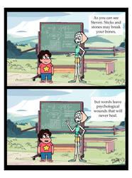 Steven Universe: Sticks and Stones by SaveTheGridTron