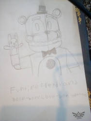 Funtime Freddy and Boon-Boon by SomeSprite