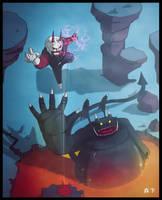 Fight of Demons by Murashi-Art