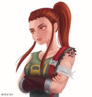 Brigitte by Murashi-Art