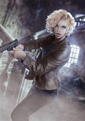Murphy / The Dresden Files by Mika-Blackfield