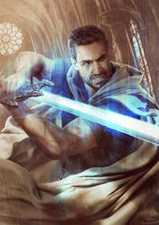 Michael / The Dresden Files by Mika-Blackfield