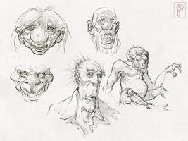 Trolls and Giants by Papierpilot