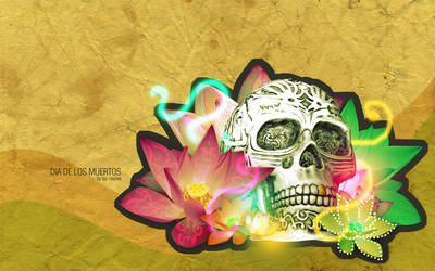 DIA DE LOS MUERTOS by crazyspacetime