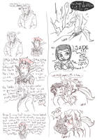 JCA/ XS- Tumblr scribbles by FutureCrazyCatLady