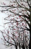 Tears of blood by CK--Art