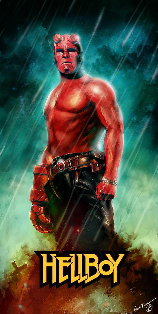 Hellboy by gantian1988