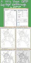 A GIMP Sugimori Walkthrough by JelloJolteon2000