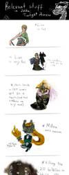 Relevant stuff in Twilight Princess by hyamara