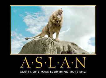 Aslan by AwesomenessDK