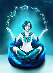 Sailor Mercury by MonicaMarinho