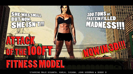 Giant Fitness Model Poster (Majo Giganta) by ureich