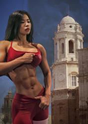 Gwon Eun Jin causing Pain in Spain by ureich