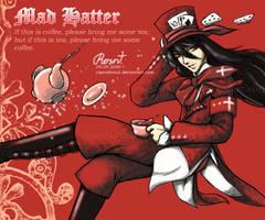 Mad Hatter by rosenkreuz
