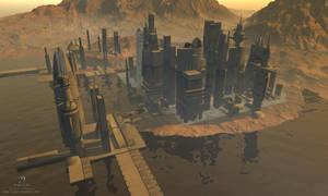 Alien City 001 V2 by sicklilmonky