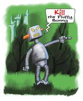 Kill the Fluffy Bunny by sicklilmonky