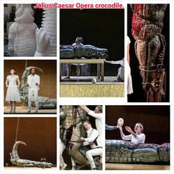 Julius Caesar opera crocodile. by davidfield