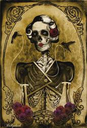 Skeleton Woman by babydark