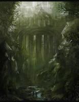 Unexplored Ruins by Narandel
