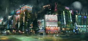 Neon Tokyo by Narandel