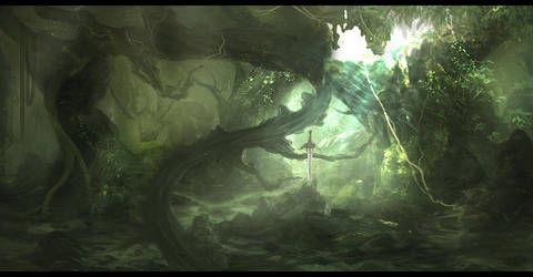 The Sword In The Stone by Narandel