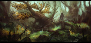 Forest Speedpaint by Narandel