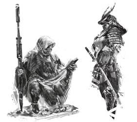 Daily sketch #1 by Narandel